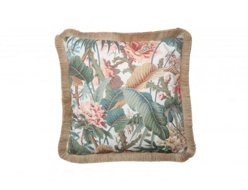 Fringed Jungle Cushion