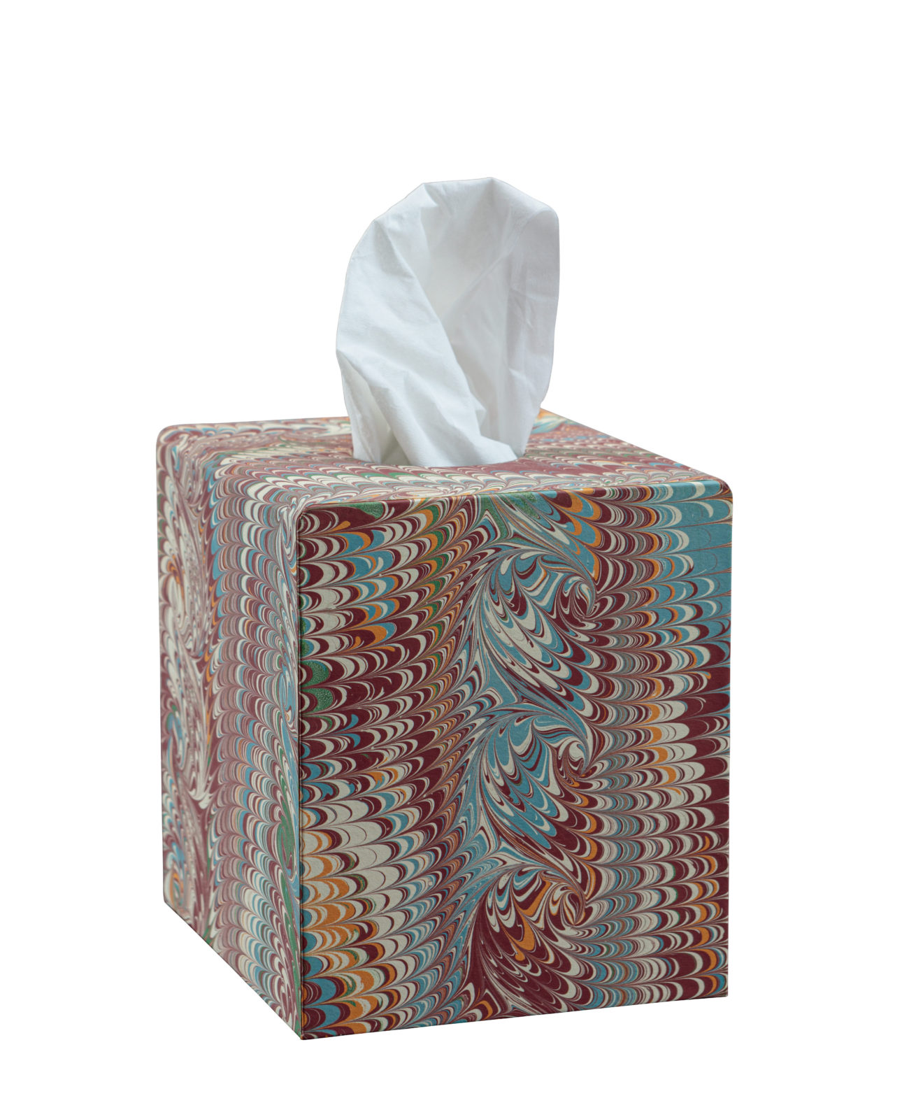 Multicolour Tissue Box