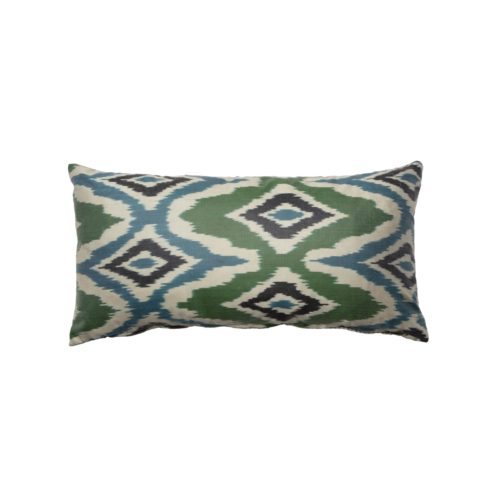 Green & Blue Cushion