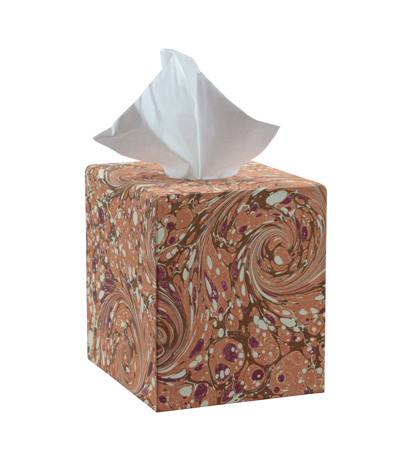 Orange Tissue Box