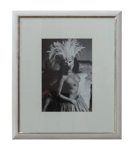 Framed Topless Woman