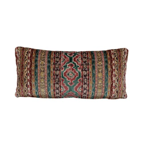 Savonnerie Velvet Cushion