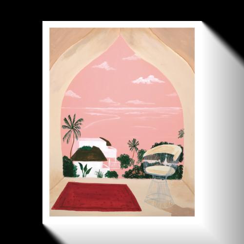'Lamu' Print