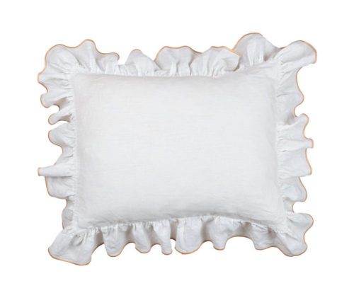 Ruffle Mini Pillow Slip